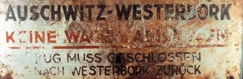 The Holocaust Lest We Forget Westerbork Transport